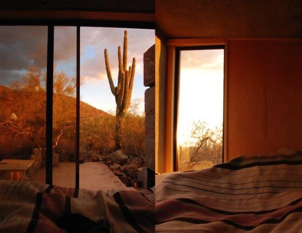 Miner's Shelter: временный приют в пустыне Аризоны