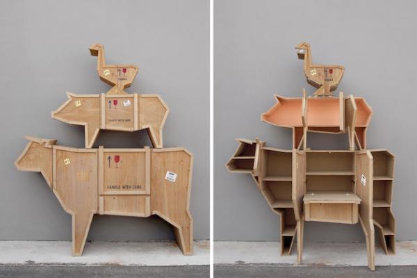 Sending Animals: анималистическая коллекция мебели
