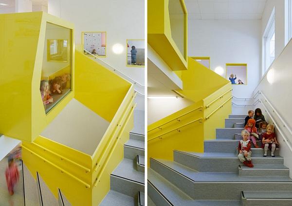 Sjotorget Kindergarten – креативный детский сад в Швеции