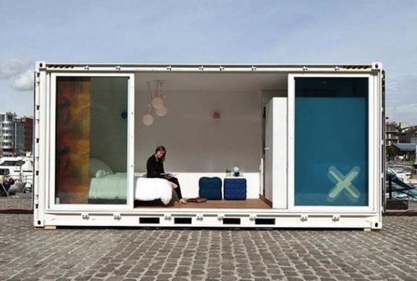 Sleeping around – отель из контейнеров в