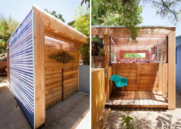 Small Space Art Shed: сарай и мастерская от Alex Wyndham