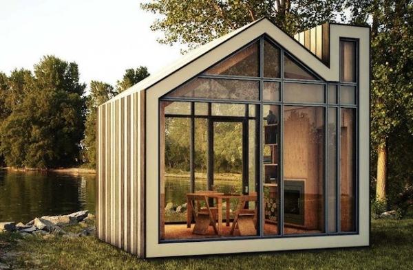 Bunkie: сборный садовый домик от канадских архитекторов