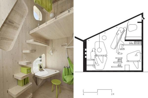 Smart Student Unit: эргономичное жилье для шведских студентов
