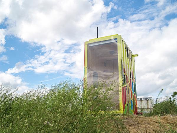 Smartkabine: вторая жизнь грузового контейнера или отдельный кабинет в промышленном районе