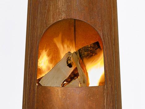 Камин SmokeStack от Frederik Roije