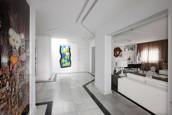Провокационный дизайн интерьера мадридской квартиры от IlmioDesign