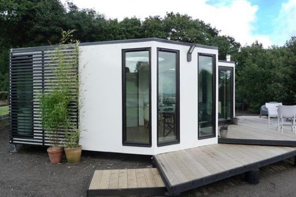 Hivehaus: стильный модульный дом с возможностью расширения