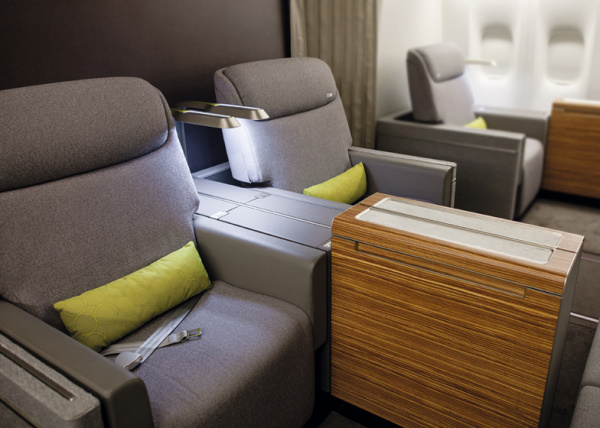 Полет первым классом от авиакомпании Brazilian airline TAM