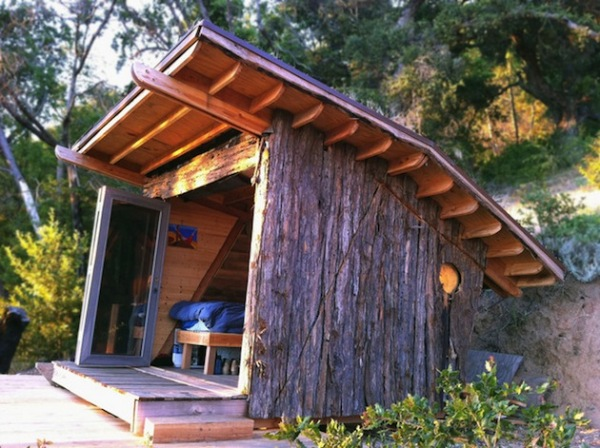 Timber Home: дом на 8-ми квадратных метрах в горах Калифорнии