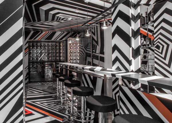 New York Bar Oppenheimer: вренменный нью-йоркский бар от немецкого художника