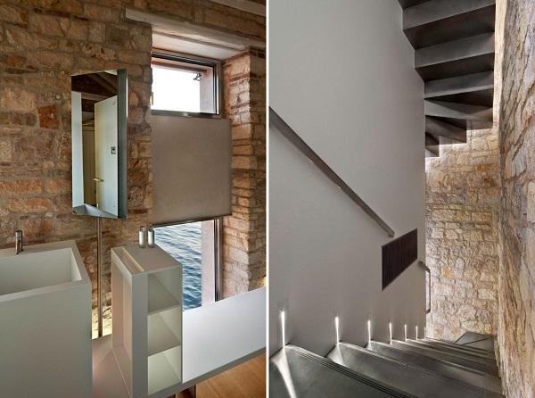 Tower in Rovinj: проект реконструкции старинного здания над каналом в Хорватии