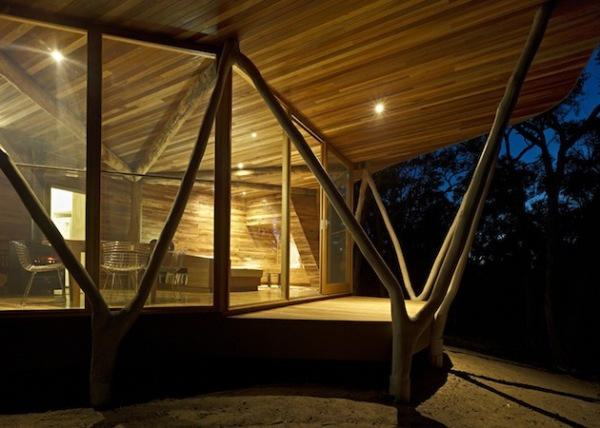 Природная архитектура жилого дома Trunk House в Австралии