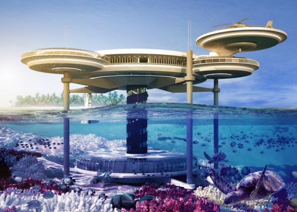 Water Discus - самый крупный в мире подводный отель для Дубая