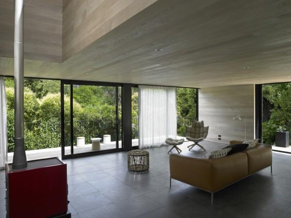 Waiatarua House: природная архитектура частного дома в Новой Зеландии