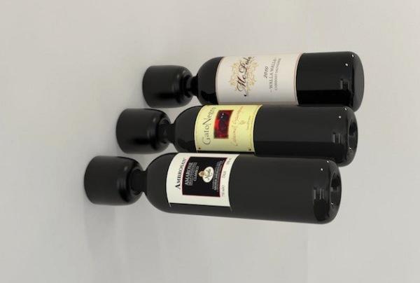 Консольные, как заведено, настенные держатели бутылок с вином для вашей кухни