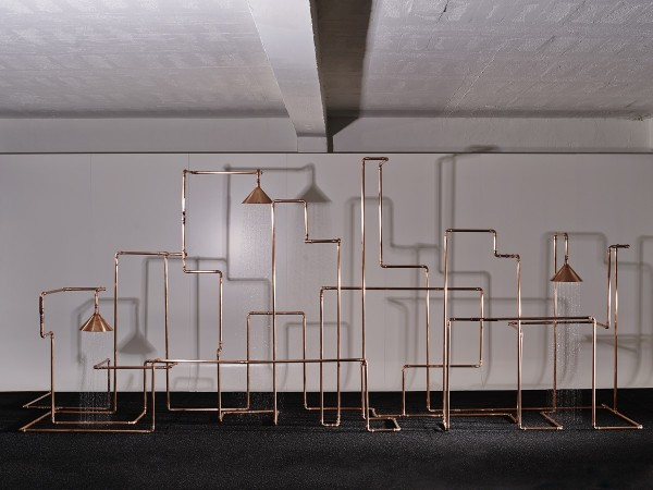 Интригующая душевая от шведских дизайнеров