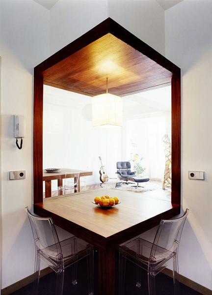 Современный интерьер традиционного испанского дома от Diaz y Diaz Arquitectos