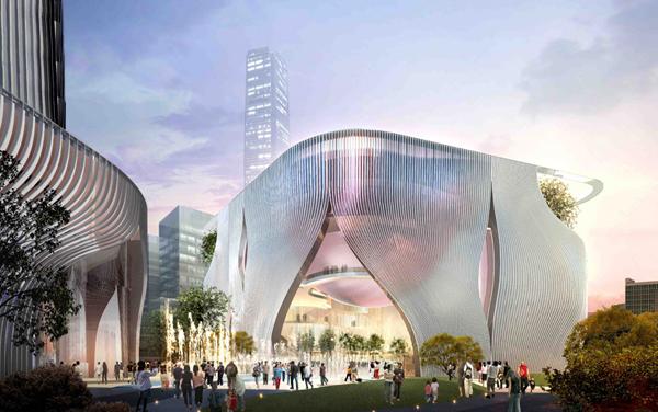 Проект культурного центра Xiqu Center в Гонконге