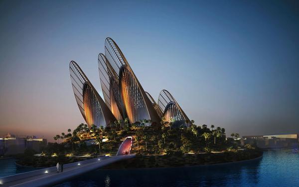 Zayed National Museum: проект национального музея-памятника для Абу-Даби
