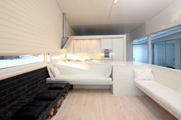 Apelle: дом-лодка в естественной гавани