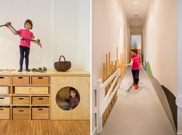 Kita Drachenhohle: уникальный детский сад от немецких архитекторов