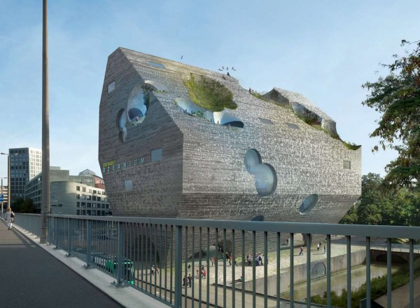 Ozeanium – футуристический городской аквариум в Базеле