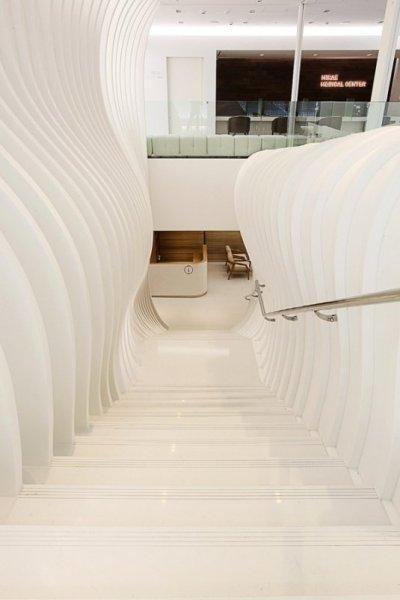 Креативный интерьер оздоровительного центра в Сеуле