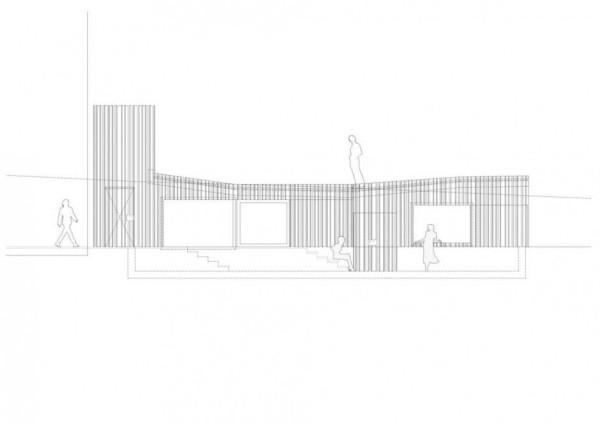 Black Wood House: современное расширение жилого дома во Франции