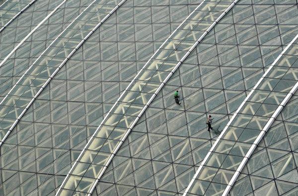 New century global center: самое большое здание в мире