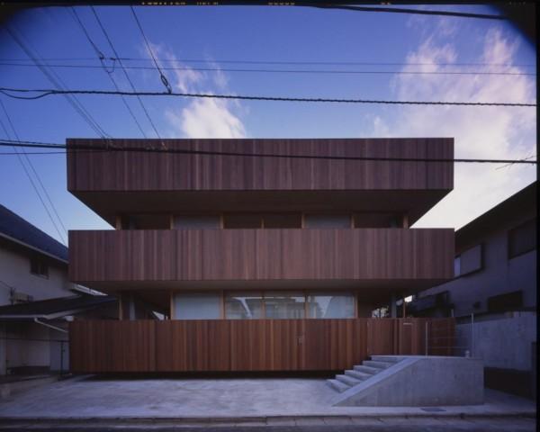 Deck House – современная интерпретация японской пагоды