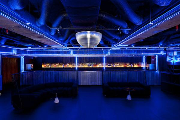 Интерьеры ночного клуба Clube Disco в Сан-Паулу (Бразилия)