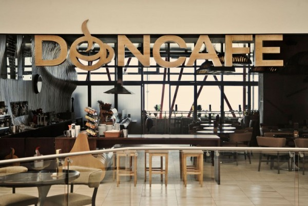 Интерьер ресторана Don Cafe House в Косово