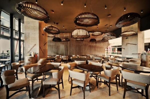 Интерьеры ресторанов мира