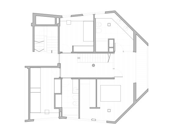 0710 Duplex PZG: креативный лофт для молодой пары