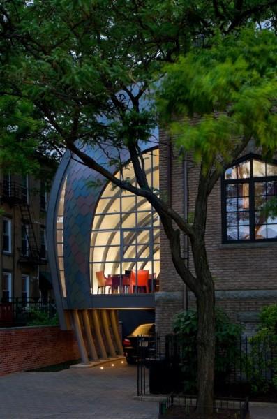 Studio Extension – современное расширение исторического здания церкви отMarchetto Higgins Stieve Architects