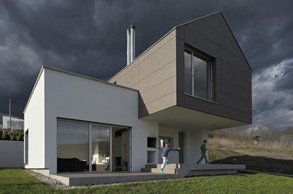GV-17: креативный загородный дом, переосмысливающий архетипы