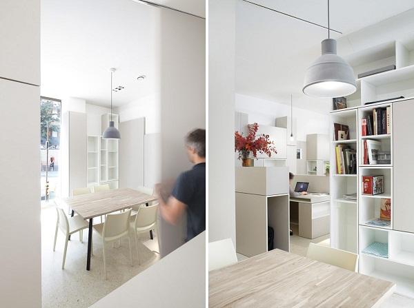 Hypernuit Offices - креативный минималистский офис в Париже