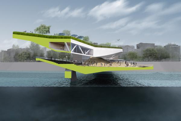 24/7 Habitable Bridge: многоцелевой двухуровневый мост для Севильи (Испания)