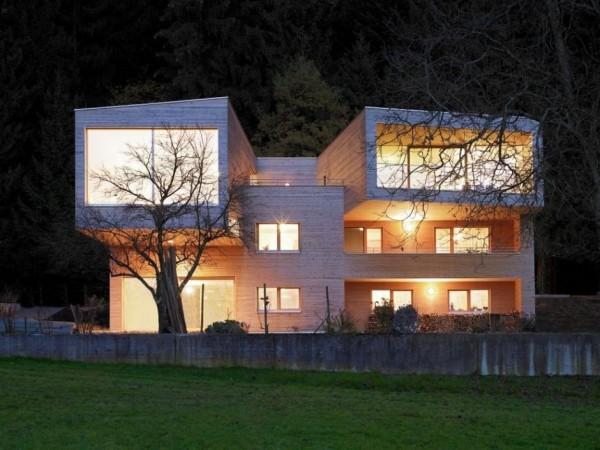 K³ House – консольная реконструкция старого дома на берегу Боденского озера