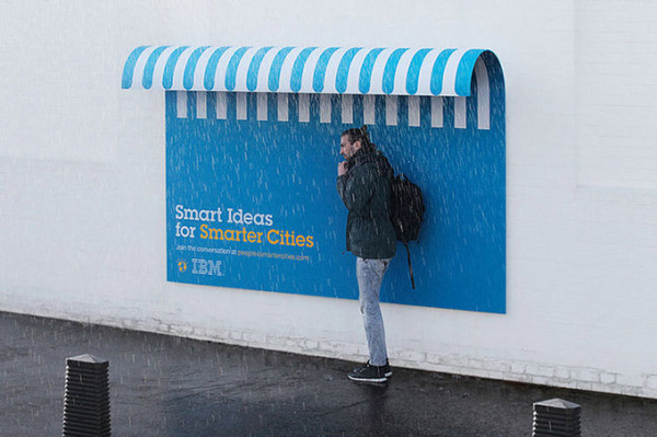 «Умная» городская реклама от IBM
