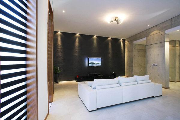 Круглый жилой дом Loukas Residence на Кипре