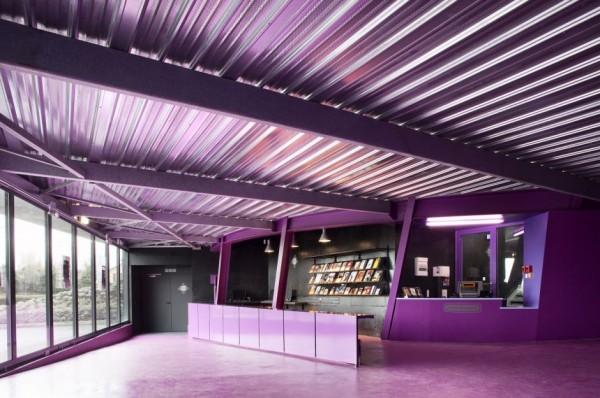 Концертный зала La Luciole Concert Hall во Франции