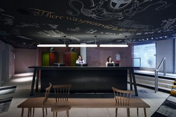 Отель Mama Shelter от Филиппа Старка (Philippe Starck) в Марселе
