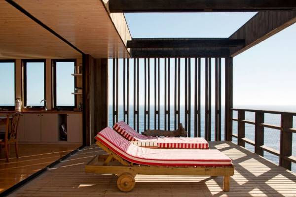 Mirador House Punta De Gallo: дом на скалах в Чили