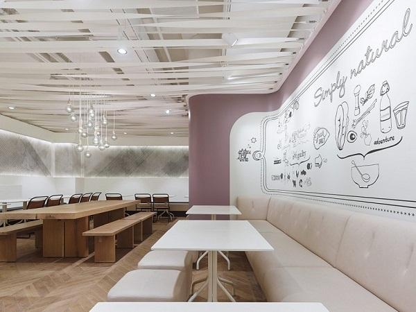 Not Guilty Restaurant: креативный рестора салатов и закусок в Цюрихе
