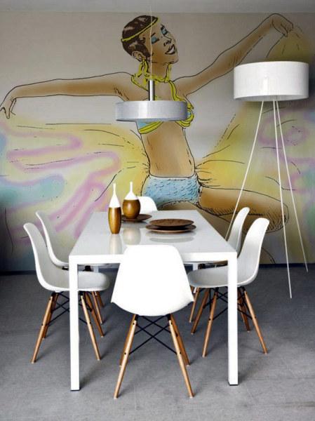 Circus - коллекция обоев, вдохновленная работами Анри Тулуз-Лотрека
