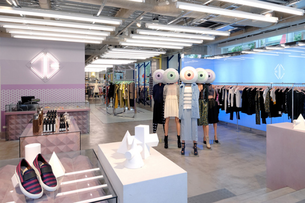 Opening Ceremony: креативные интерьеры нового брендового бутика в Токио