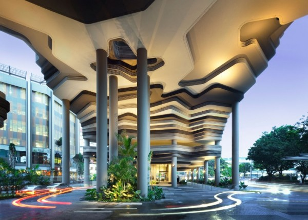 PARKROYAL Hotel – сюрреалистический парк-отель в Сингапуре