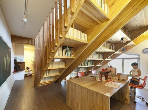 Panorama House – дом вокруг лестницы от Moon Hoon