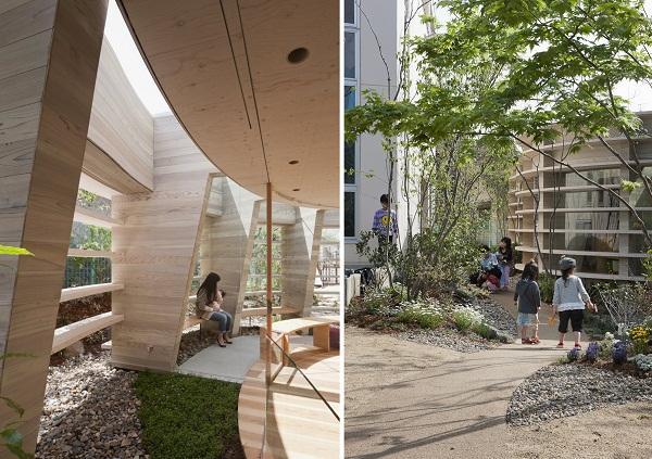 Peanuts Nursery School: детский сад нового поколения в Хиросиме